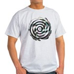 Dizzy Flower Ash Grey T-Shirt