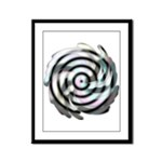 Dizzy Flower Framed Panel Print