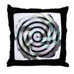 Dizzy Flower Throw Pillow