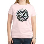 Dizzy Flower Women's Pink T-Shirt