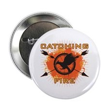 "Catching Fire Blazing 2.25"" Button (100 pack)"