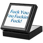 Fuck You Keepsake Box