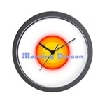 Morning Person Wall Clock