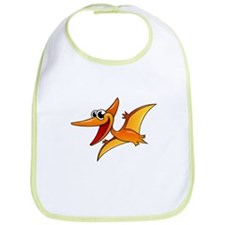 Cartoon Pterodactyl Bib
