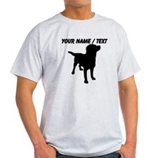 Custom Dog Silhouette T-Shirt