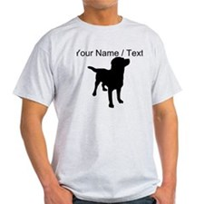 Custom Dog Silhouette T-Shirt
