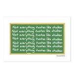 Not Like Chicken Postcards (Package of 8)