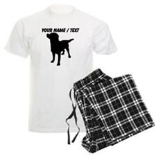 Custom Dog Silhouette Pajamas