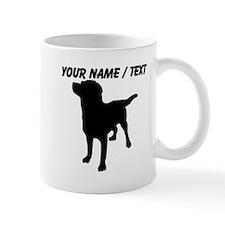 Custom Dog Silhouette Mugs