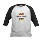Quilting Queen Kids Baseball Jersey