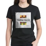 Quilting Queen Women's Dark T-Shirt