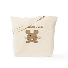 Custom Cartoon Mouse Tote Bag