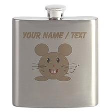 Custom Cartoon Mouse Flask