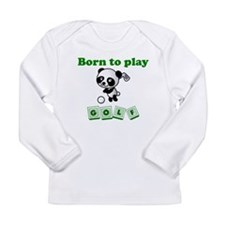 Born To Play Golf Long Sleeve T-Shirt