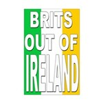 Brits out of Ireland Mini Poster