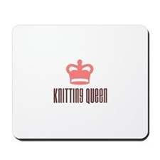 Knitting Queen Mousepad