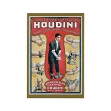 Houdini Handcuff King Magnets