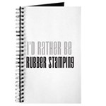 Rather Be Rubber Stamping Journal