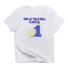 This Lil Volleyball Player Is One Infant T-Shirt