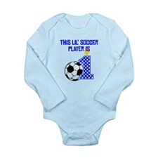This Lil Soccer Player Is One Body Suit
