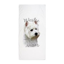 Westie Mom Beach Towel