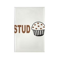 Stud Muffin Rectangle Magnet (100 pack)