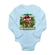 MerryChristmas Chesapeake Bay Retriever Body Suit