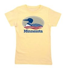 Proud Loon Minnesota Girl's Tee