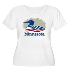 Proud Loon Minnesota Plus Size T-Shirt