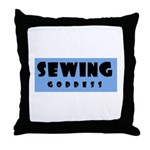 Sewing Goddess Throw Pillow