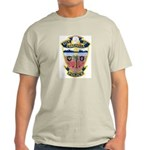 Coachella Police Ash Grey T-Shirt