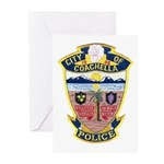 Coachella Police Greeting Cards (Pk of 10)