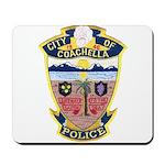 Coachella Police Mousepad