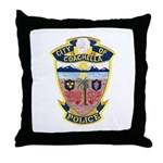 Coachella Police Throw Pillow
