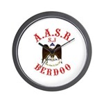 Scottish Rite Berdoo Wall Clock