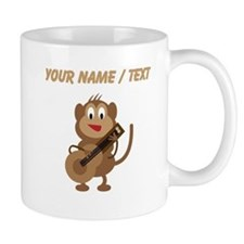 Custom Monkey Playing Guitar Mugs