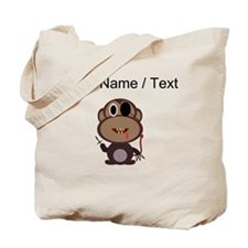Custom Evil Monkey Tote Bag