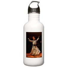 whirling sufi dervish  Sports Water Bottle