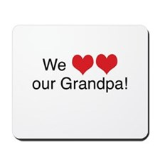 We heart grandpa Mousepad
