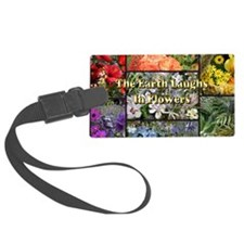 Rainbow colored Earth Laughs in  Luggage Tag