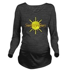 Sunny Day.png Long Sleeve Maternity T-Shirt