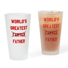 World's  Greatest Father Drinking Glass