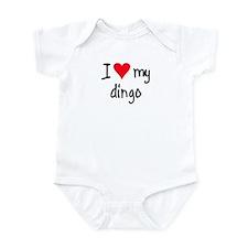 I LOVE MY Dingo Infant Bodysuit