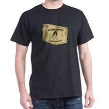 Dark Barbarian Badminton T-Shirt