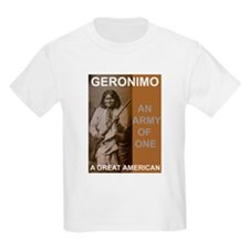 Geronimo Great American Kids T-Shirt