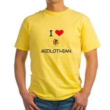 I Love MIDLOTHIAN Illinois T-Shirt