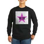 Knit Star Long Sleeve Dark T-Shirt