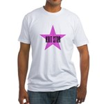 Knit Star Fitted T-Shirt