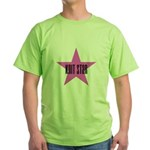 Knit Star Green T-Shirt
