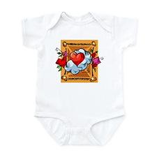 Valentine Heart Balloon Infant Bodysuit